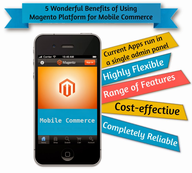5 Wonderful Benefits of Using Magento Platform for Mobile Commerce