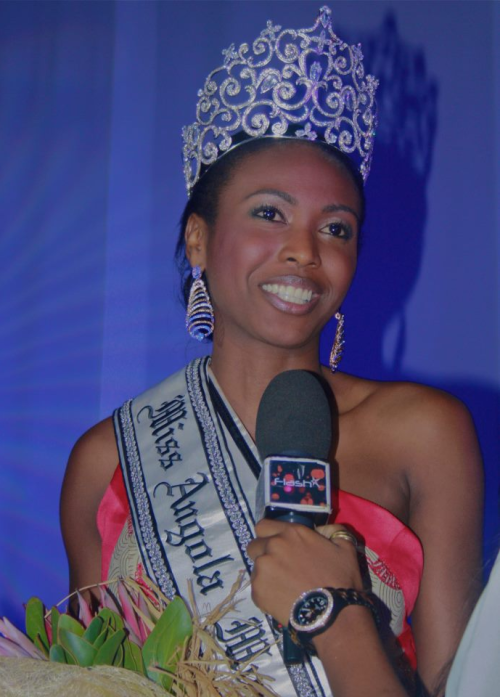 Miss World Angola 2013 Maria Castelo