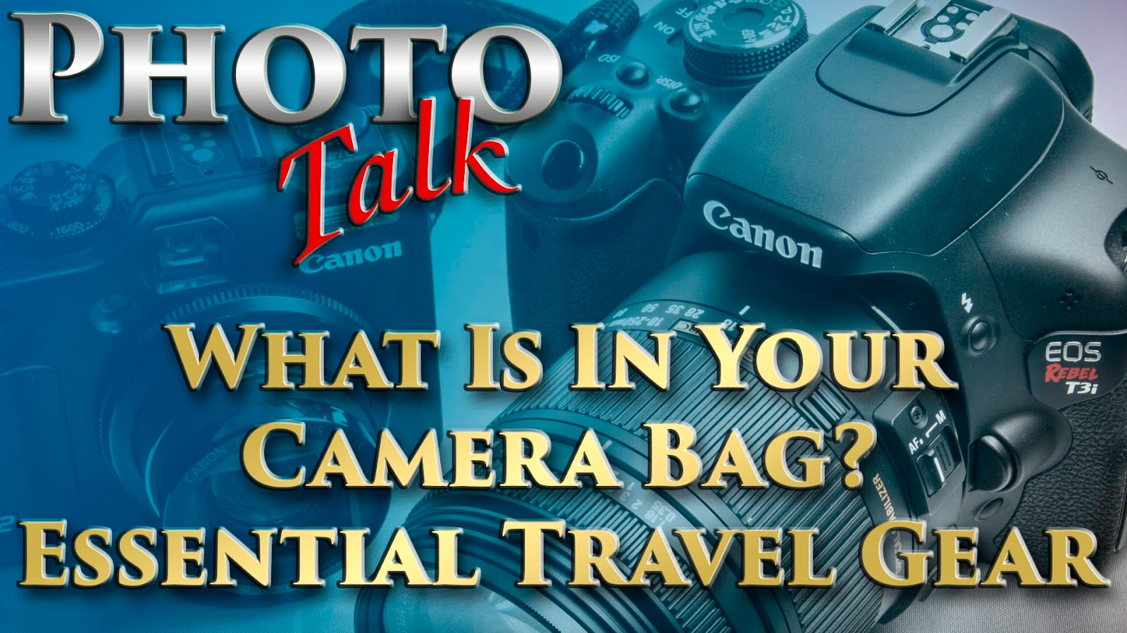 What Is In Your Camera Bag? - Essential Travel Gear