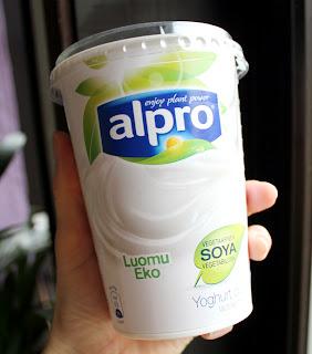 Oppskrift Vegansk Yoghurt Melkefri Soyayoghurt Alpro Melkefri Dip