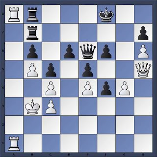 Echecs à Bienne : Position après 81...Rf8