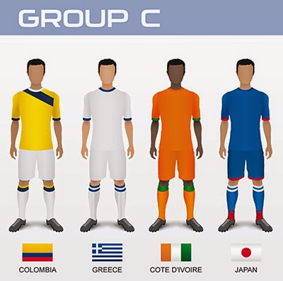 Group C TEAMS- FIFA 2014
