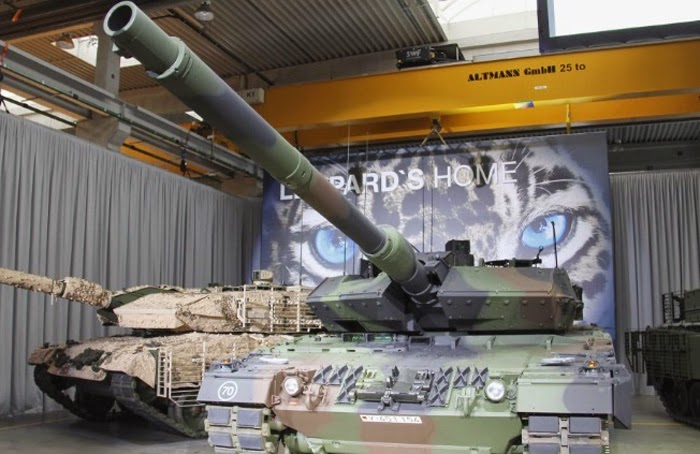 MBT Leopard 2A7