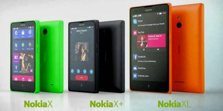 Android Dual-Core Murah Berkualitas, Nokia X 'Normandy', X+ dan XL