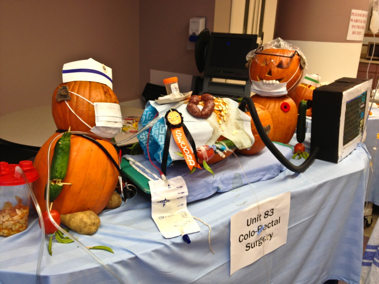 rockyview general hospital: pumpkin carving contest 2012 | clearly