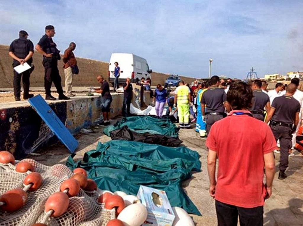 La tragedia di Lampedusa: perché Corleone non ospita i resti di alcuni profughi?