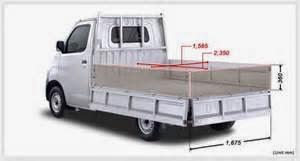 Spesifikasi Pick Up Daihatsu Grand Max 3 Way 1 3 M T