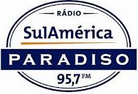 ouvir a Rádio SulAmérica Paradiso FM 95,7 ao vivo e online Rio de Janeiro RJ