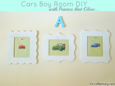 boys cars wall art