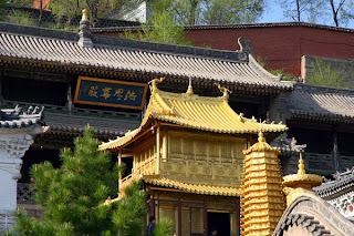 Golden Roof in Xiantong temple, Wu Tai Shan