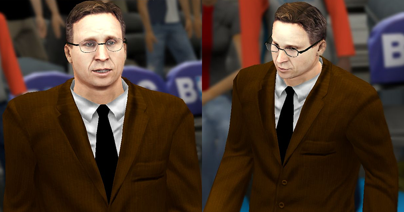Scott Brooks Glasses NBA 2K14 Patch