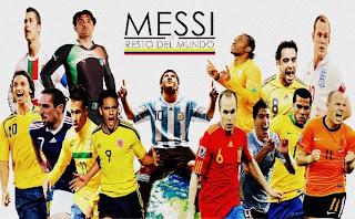 Amigos de Messi vs. Resto del mundo ¡La batalla de las estrellas¡