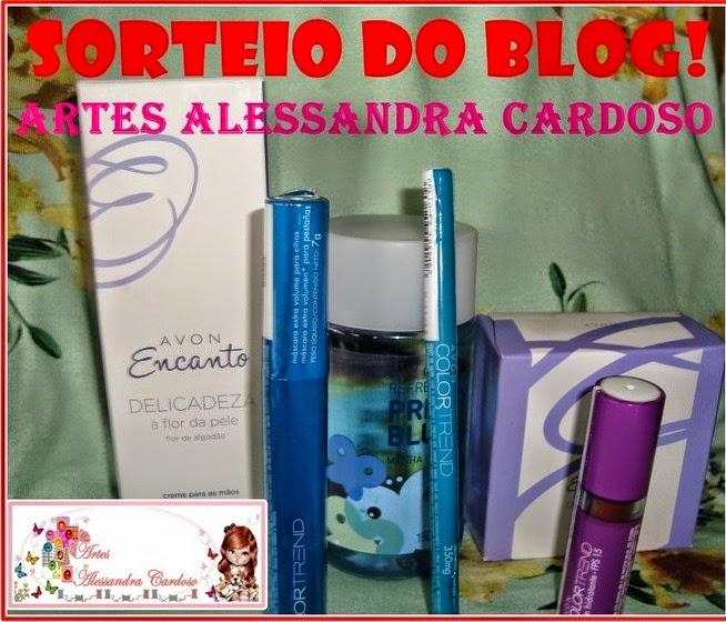 Sorteio Blog Artes Alessandra Cardoso