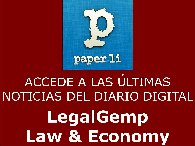 Novedades y Noticias Jurídicas y Económicas en LegalGemp - Law & Economy