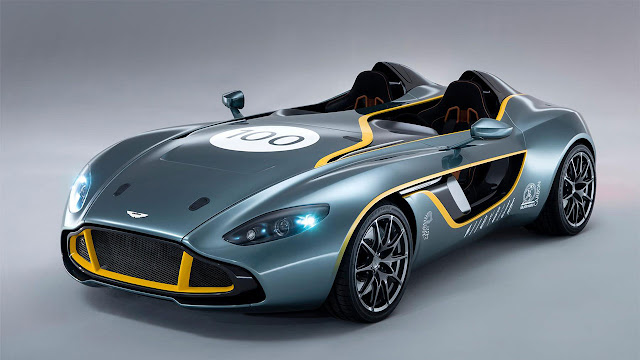 Aston Martin's radical CC100 Speedster Concept breaks cover