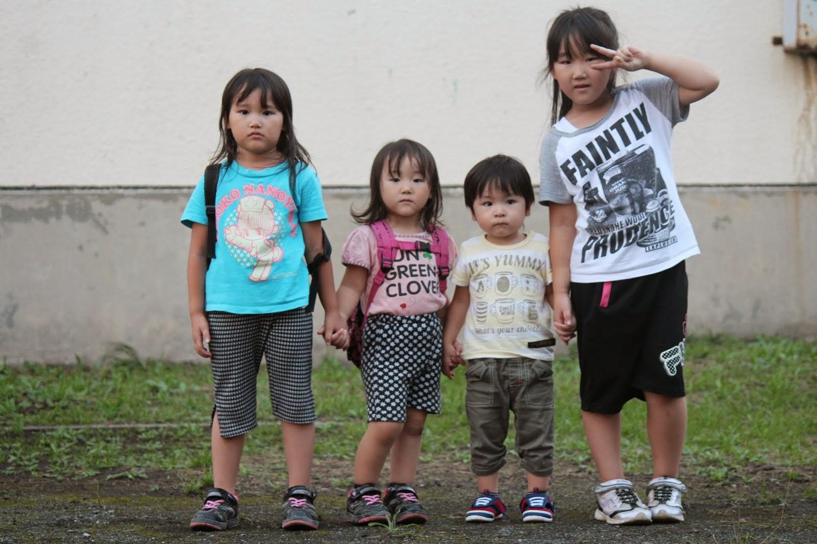三姉妹&従弟