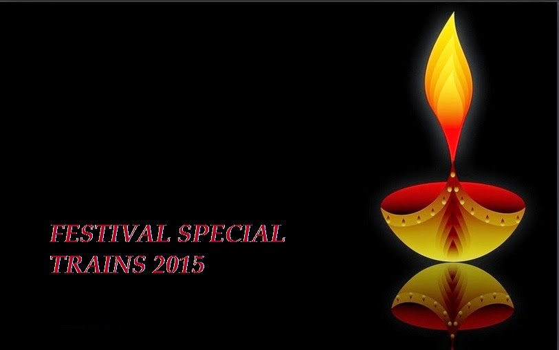 Southern Railway :: Festival Special Trains 2015