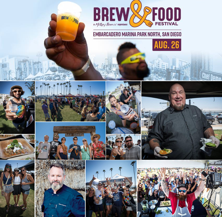 Save on passes & Enter to win VIP tickets to the San Diego Brew & Food Festival - August 26!