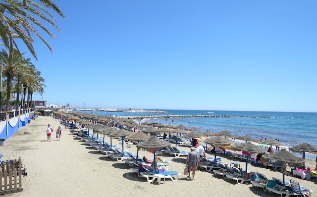 Marbella Summer Holiday Beach View Sea