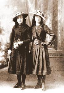 Mis tías Luisa y Victoria