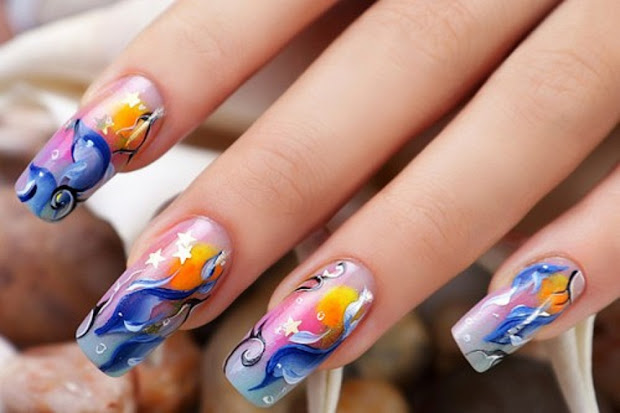 dynamic views beautiful nail art