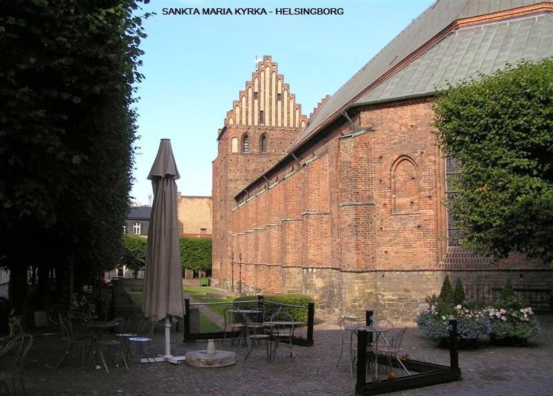 Sankta Maria Kyrka - Helsingborg, Sweden