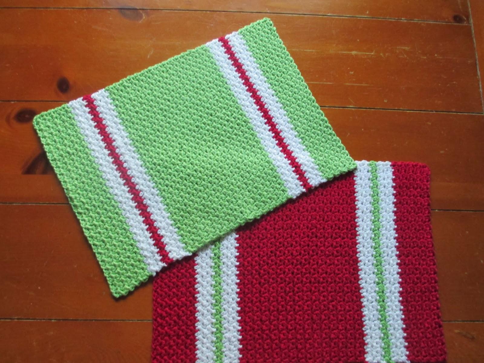 Crochet Placemats : Nandinas Place: Crochet placemat