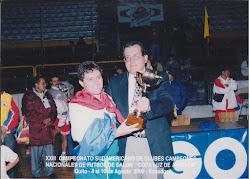 XXIII SUDAMERICANO y 1ER PANAMAERICANO INTERCLUBES QUITO 2000