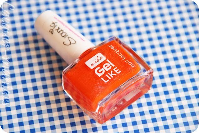 Elektryczna pomarańczka Wibo Obssesion [swatche]