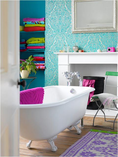 Teen girls bathroom design ideas girl room design ideas for Girls bathroom ideas