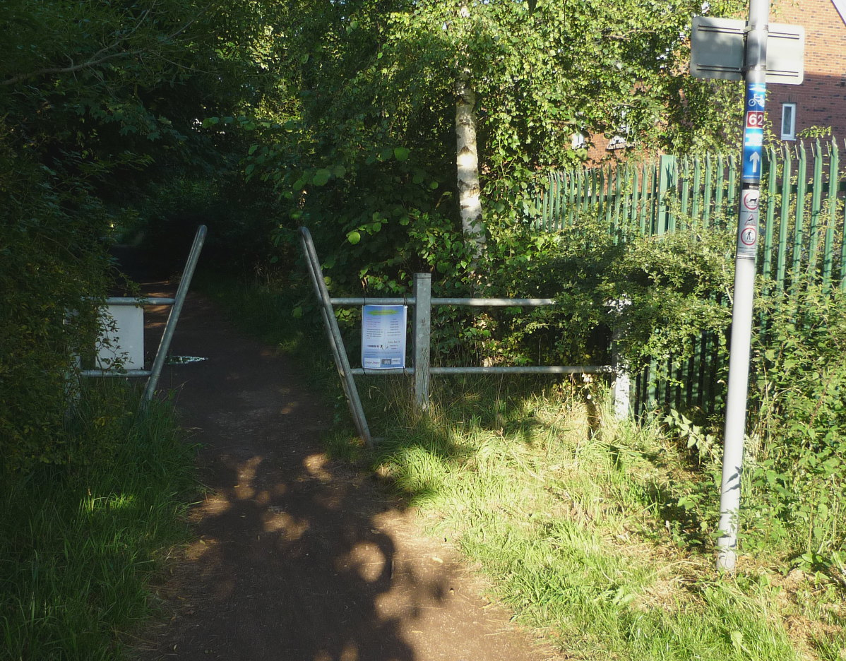 Mad Cycle Lanes of Manchester: The Trans Pennine Trail - Part 1 ...