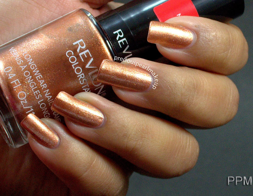 preciouspearlmakeup: Revlon Colorstay Nail Enamel in Rain Forest and ...