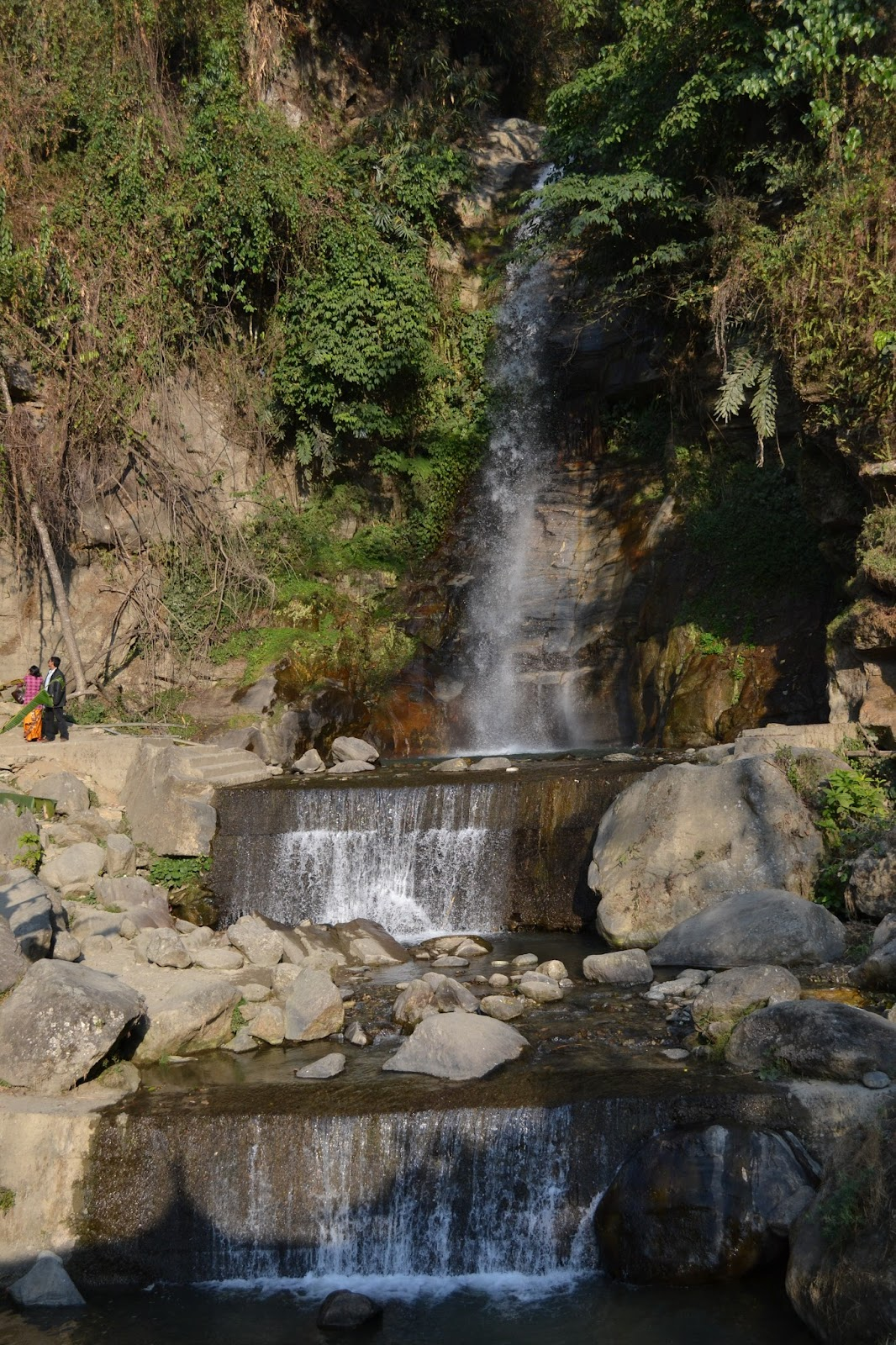 Banjhakri waterfall