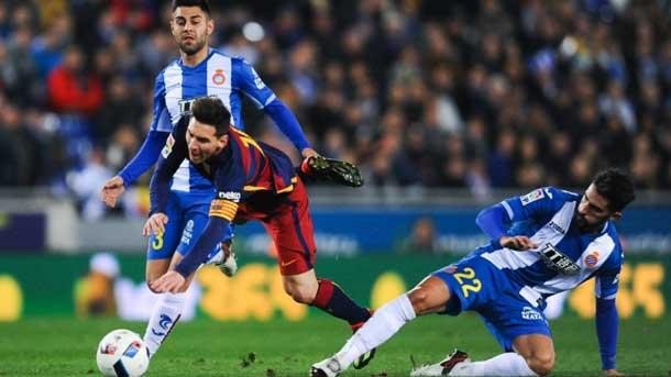 Messi recriminó a Álvaro la dureza de sus entradas
