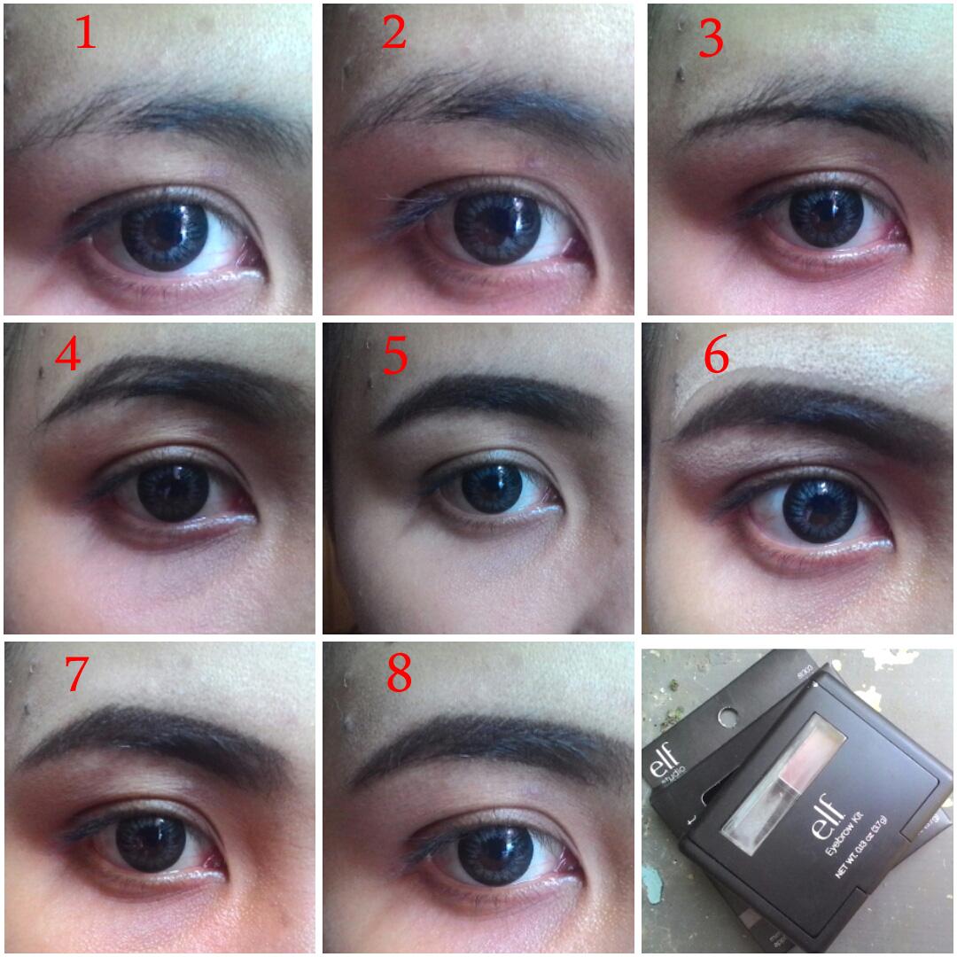 elf eyebrow kit tutorial. cara pakai elf eyebrow kit tutorial l