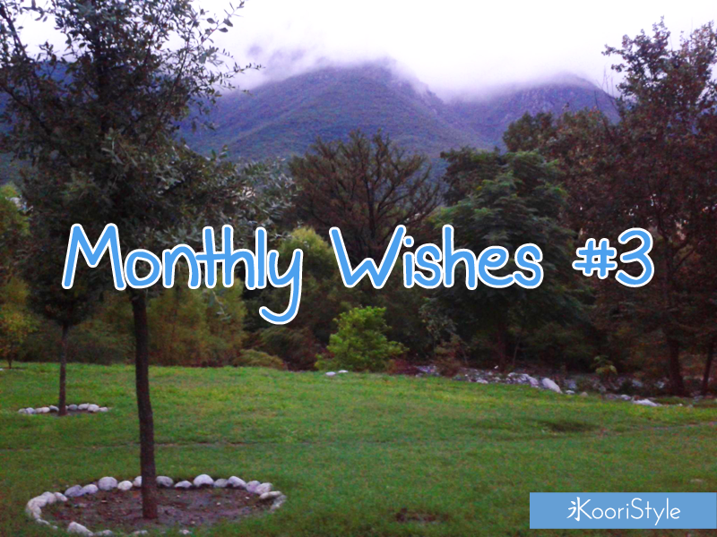 Koori Style KooriStyle Monthly October Wishes Goals Link-Up