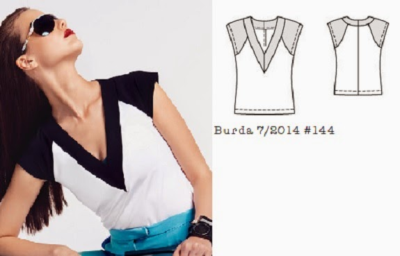 Burda_7_2014_#114_vneck_raglan_top