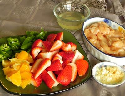 Плодово-ягодный стир-фрай