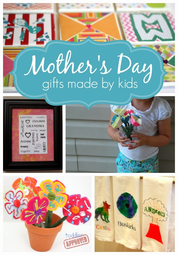 Toddler approved homemade gifts made by kids for mother for Homemade mothers day gifts from toddlers
