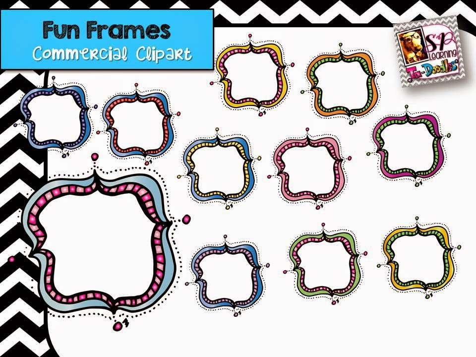 http://www.teacherspayteachers.com/Product/Fun-Frames-with-dots-Clip-Art-1398649