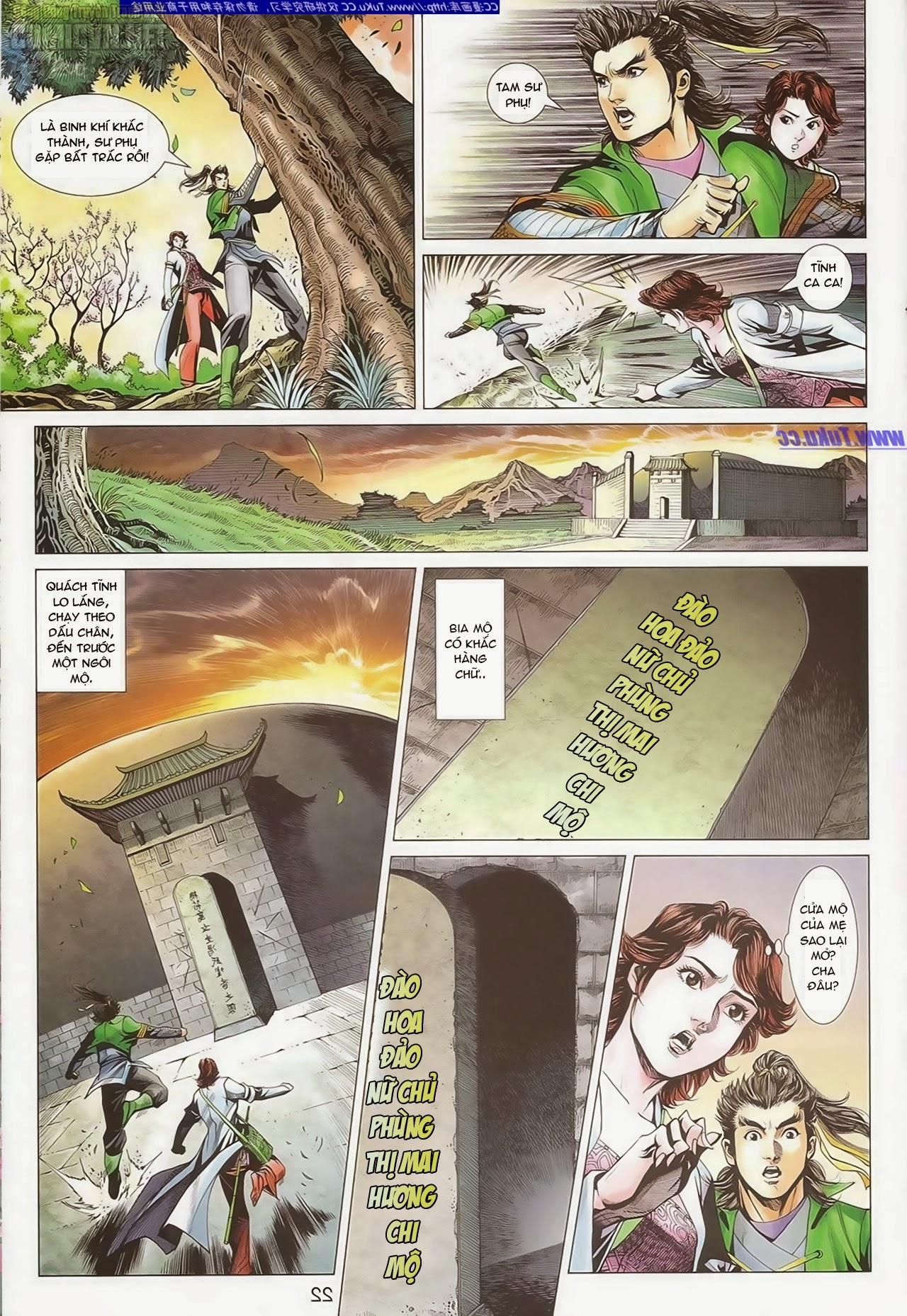 xem truyen moi - Anh Hùng Xạ Điêu - Chapter 84: Máu nhuộm Đảo Đào Hoa