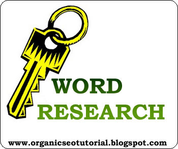organic seo tutorial about keyword research