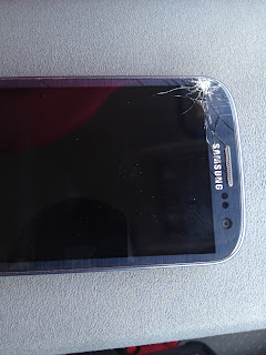 Broken Samsung Galaxy S3