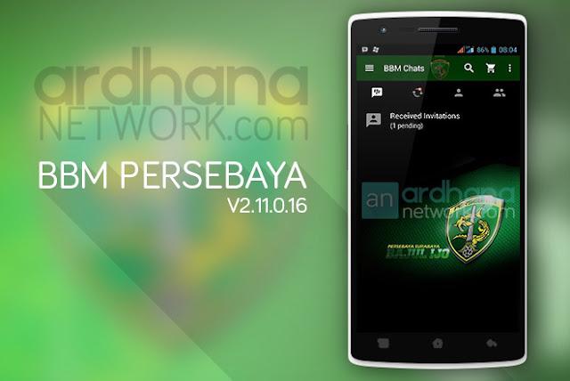 BBM Persebaya - BBM Android V2.11.0.16