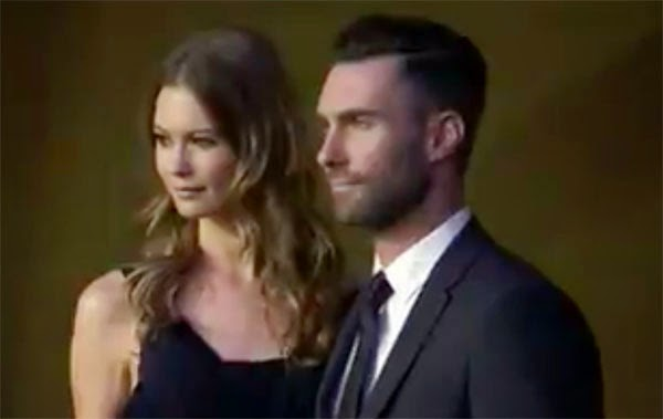 Behati Prinsloo and Adam Levine married