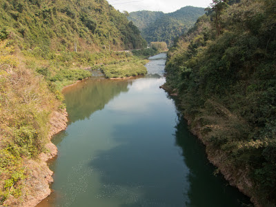 Photo: rivers in northern Laos feed local people