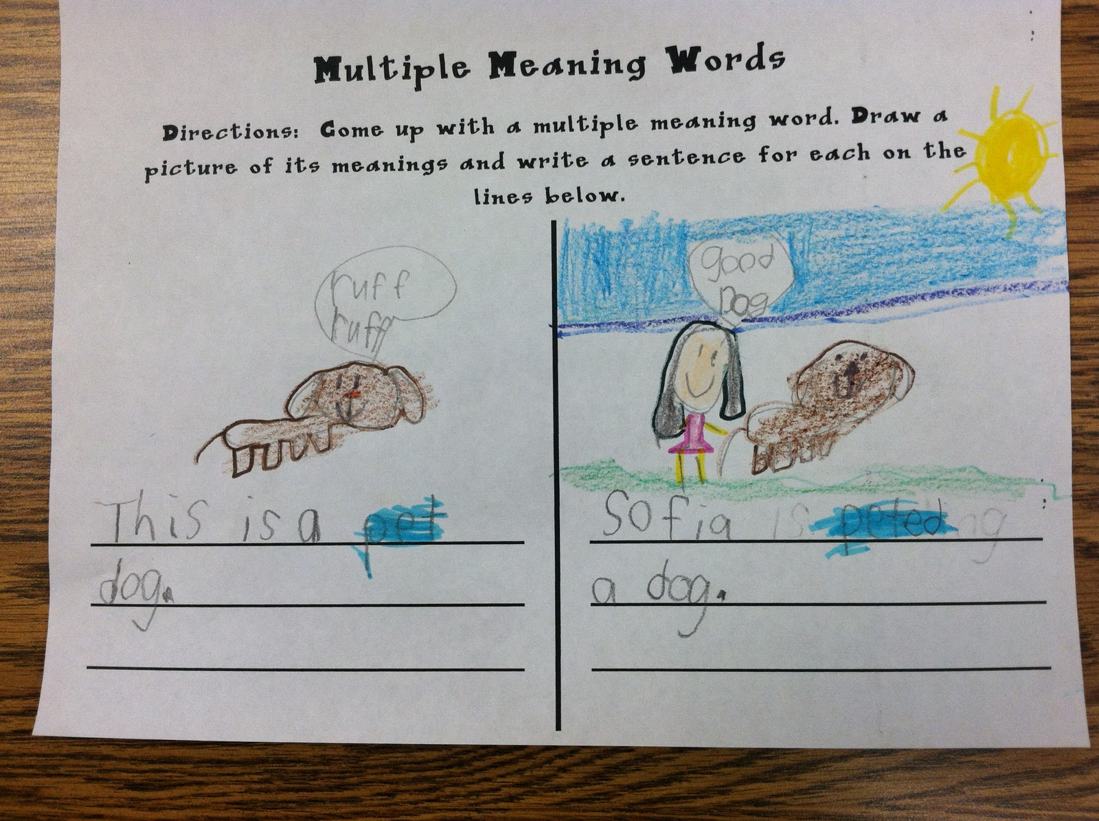 Which Definition Is It? (Multiple Meaning Words w/ Context Clues)
