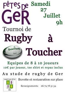 Tournoi de rugby à toucher
