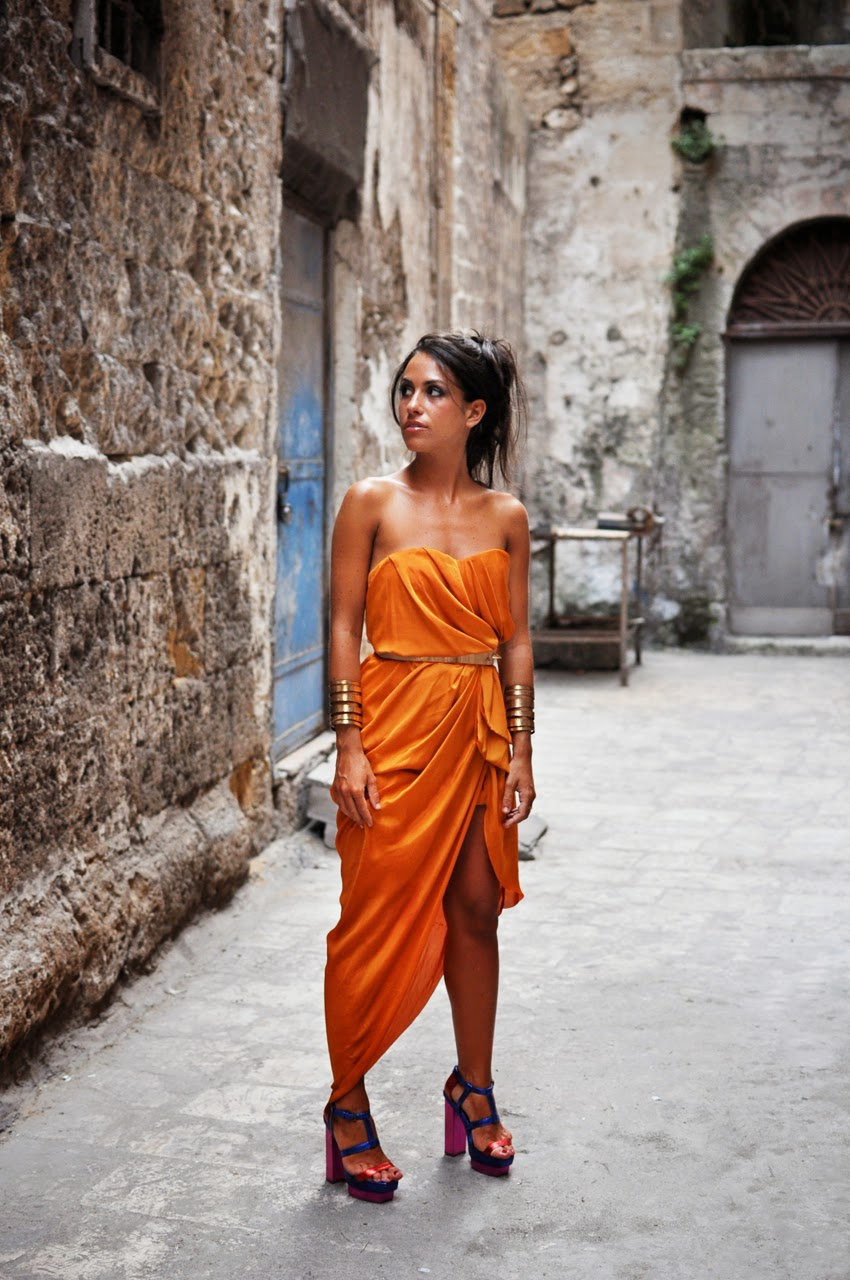 h&m-conscious-collection-dress-orange