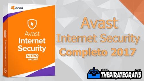 Avast Internet Security 2017 + Serial Ativador Completo
